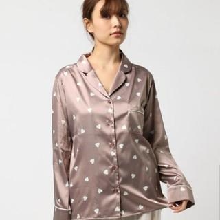 未使用♡ジェラートピケハートサテンパジャマ上下セット