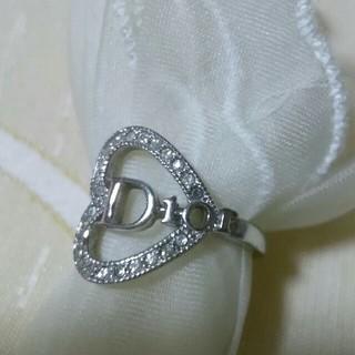 クリスチャンディオール(Christian Dior)のクリスチャン ディオール リング ハート(リング(指輪))