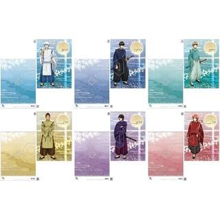 アニメ 銀魂 A4サイズ クリアファイル 平安貴族風 6種セット(クリアファイル)