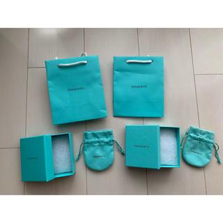 ティファニー(Tiffany & Co.)のブランド 紙袋 空箱 袋 セット Tiffany&Co(ショップ袋)