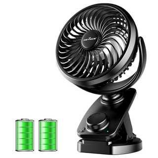 卓上扇風機 首振り クリップ式 静音 ミニ扇風機