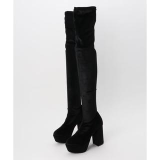 ジーヴィジーヴィ(G.V.G.V.)のG.V.G.V PLATFORM OVER THE KNEE BOOTS ブーツ(ブーツ)