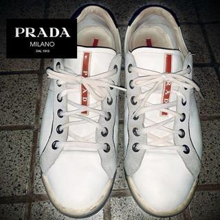 プラダ(PRADA)の【PRADA】参考価格84,700円サイズ8(27cm)スニーカー(スニーカー)