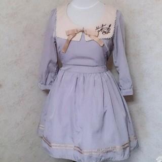 アマベル(Amavel)のamavelセーラー襟ワンピース紫(ひざ丈ワンピース)