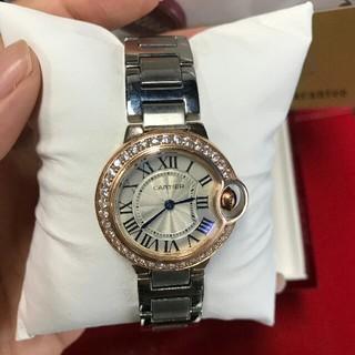 カルティエ(Cartier)の CARTIER カルティエ カリブル ドゥ 28mm WE 902079(腕時計)