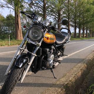 カワサキ - ゼファー400 車体 z2仕様 (黒×金)