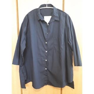 DEUXIEME CLASSE - ドゥーズィエムクラス ネイビーシャツ