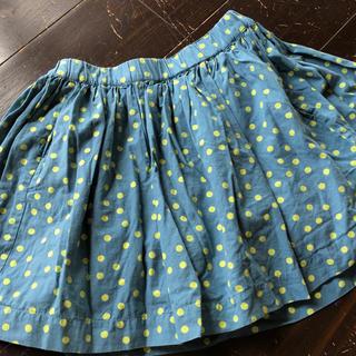 ボンポワン(Bonpoint)のボンポワンのドット柄スカート(スカート)