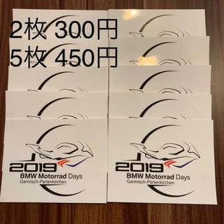 BMW - 非売品 BMW Motorrad Days 2019 シール