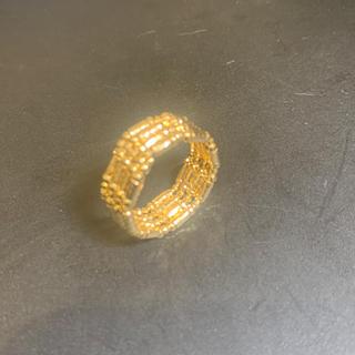 [刻印入]k18デザインリング(リング(指輪))