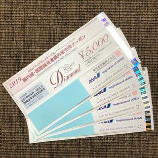 ANA(全日本空輸) - 全日空 ANA ダイヤモンドサービス 国内線・国際線共通機内販売用クーポン