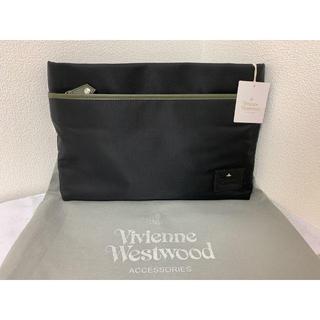 Vivienne Westwood - 【新品・送料無料】ヴィヴィアンウエストウッド クラッチバッグ ブラック