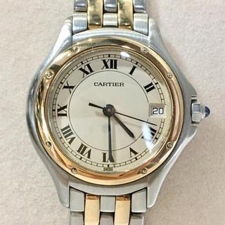 カルティエ(Cartier)のCartier カルティエ K18YG クォーツ レディース 腕時計(腕時計)
