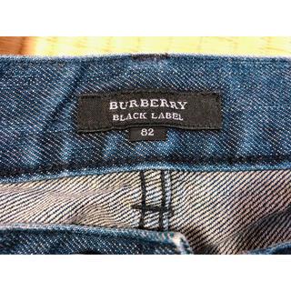 BURBERRY BLACK LABEL - BURBERRY BLACK LABEL デニムパンツ
