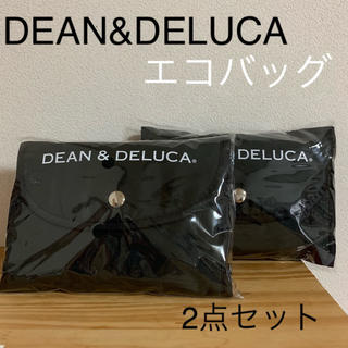 DEAN & DELUCA - DEAN&DELUCA オリジナルショッピングバッグ ブラック 2点セット 新品