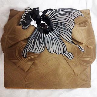 新品◆金魚の作り帯①(浴衣帯)