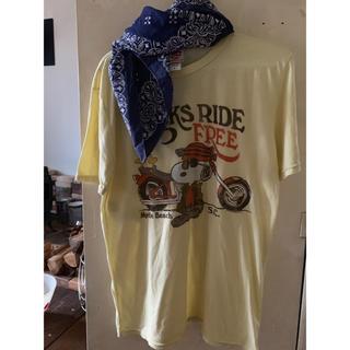 ジャンクフード(JUNK FOOD)のジャンクフード)JUNK FOOD SNOOPY スヌーピー 半袖 Tシャツ(Tシャツ/カットソー(半袖/袖なし))
