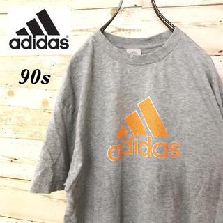 アディダス(adidas)の【激レア】90sアディダス☆パフォーマンスデカロゴ半袖ゆるダボビッグTシャツ(Tシャツ/カットソー(半袖/袖なし))