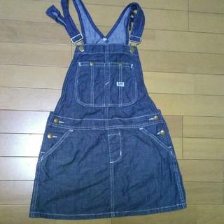 Lee - Lee キッズデニムジャンパースカート 150cm
