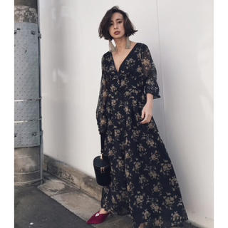 Ameri VINTAGE - AMERI NOSTALGIC LONG DRESS