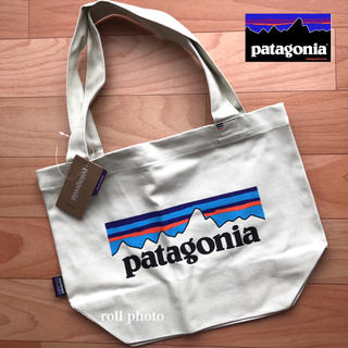 patagonia - 大人気 未使用品☆パタゴニア ミニ トートバッグ ロゴ 入り