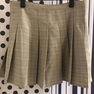 GRL - GRL チェックプリーツスカート