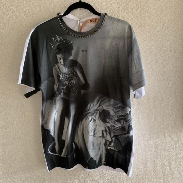 N°21(ヌメロヴェントゥーノ)の新品未使用 ヌメロ ヴェントゥーノ Tシャツ  レディースのトップス(Tシャツ(半袖/袖なし))の商品写真