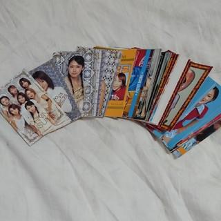 モーニングムスメ(モーニング娘。)のモーニング娘。カード(46枚)+4(アイドルグッズ)