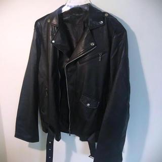 ZARA - ダブルライダースジャケット オーバーサイズ   韓国 dude9 lidnm