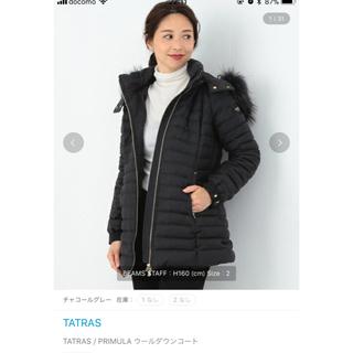 TATRAS - TATRAS  PRIMULA  ウールダウン ギャランティカード付き
