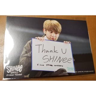 シャイニー(SHINee)のSHINeeミンホ ポストカード(K-POP/アジア)