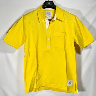 ブラックフリース(BLACK FLEECE)の💎未使用💎BLACK FLEECE ピケ 半袖ポロシャツ BB2 イエロー(ポロシャツ)