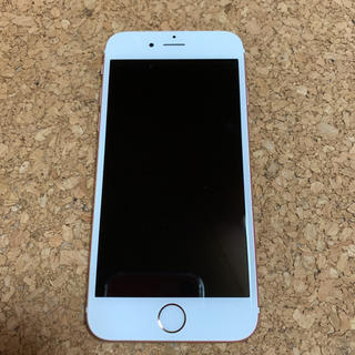 iPhone - iPhone 6s Rose Gold 64 GB SIMフリー