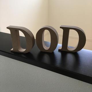 ドッペルギャンガー(DOPPELGANGER)のアルファベットオブジェ DOD ドッペルギャンガー(その他)