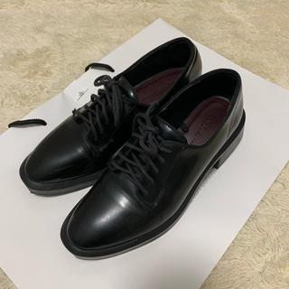 ザラ(ZARA)の【美品】ZARA  厚底オックスフォードローファー(ローファー/革靴)