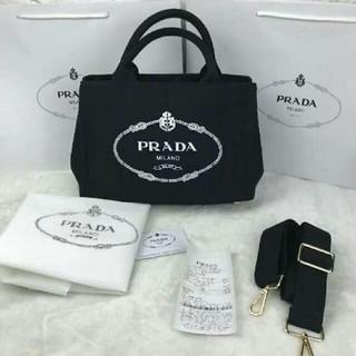 プラダ(PRADA)のPRADAカナパMサイズ トートバッグ(トートバッグ)