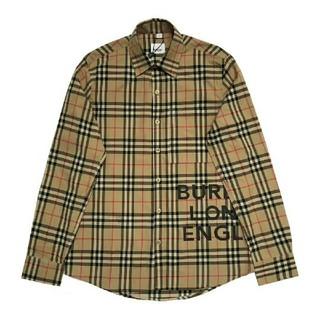 BURBERRY - burberry ストライプシャツ