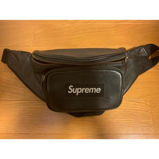 Supreme - supreme leather waist bag