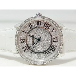 カルティエ(Cartier)のCartier カルティエ ロンドソロ XL 全面ダイヤモンド(腕時計)