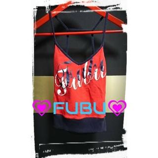 フブ(FUBU)の★FUBU★美品★ストレッチ・キャミソールタンク(ベアトップ/チューブトップ)