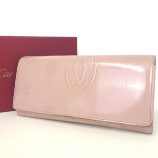 カルティエ(Cartier)のCartier カルティエ ハッピーバースデー 長財布  9-315(財布)