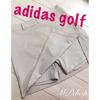 adidas - 美品♡ アディダスゴルフ インナーパンツ一体型 ゴルフ スカート