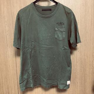 ネクサスセブン(NEXUSVII)のNEXUS7 胸ポケットTシャツ 深緑 48 NEXUSⅦ(Tシャツ/カットソー(半袖/袖なし))