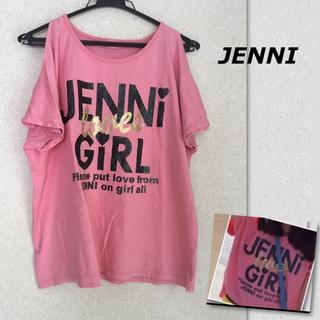 JENNI - JENNI ジェニィ 160 肩出し ドルマン Tシャツ