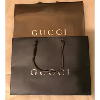 Gucci - 2枚セット Gucciグッチ 紙袋 ショッパー