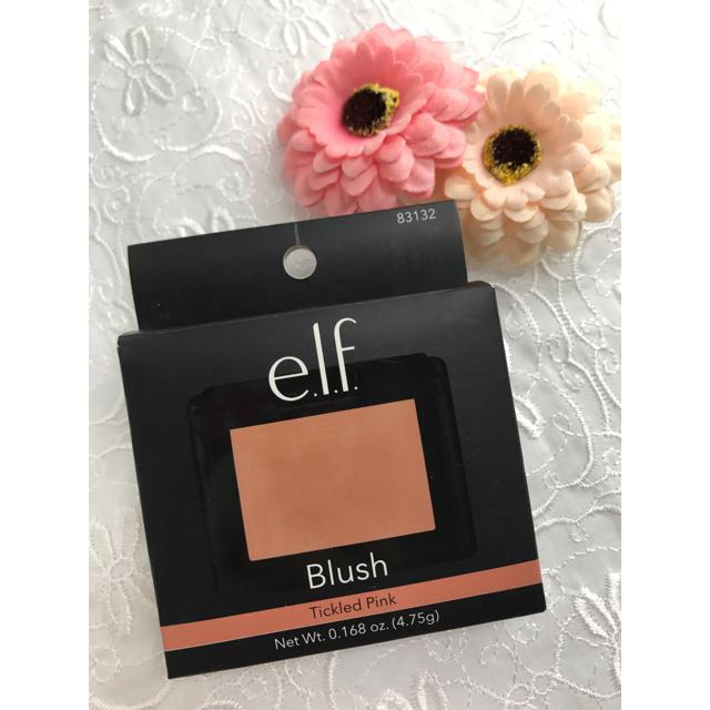 elf(エルフ)のエルフ   チーク  ティクルドピンク ⭐ コスメ/美容のベースメイク/化粧品(チーク)の商品写真