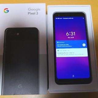 ANDROID - Google Pixel 3 64GB black
