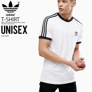 アディダス(adidas)の新品 adidas TEE L ホワイト ユニセックス トレフォイル タグつき(Tシャツ/カットソー(半袖/袖なし))