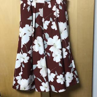 セシルマクビー(CECIL McBEE)のセシルマクビー 花柄ガウチョパンツ(カジュアルパンツ)