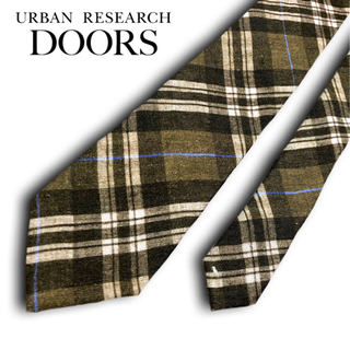 ドアーズ(DOORS / URBAN RESEARCH)の【新品未使用】URBAN RESEARCH DOORS ネクタイ ブラウン(ネクタイ)